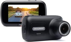 Nextbase 322GW Dash Cam 2.5 inch HD 1080p Touch Screen Car Dashboard Camera, Quicklink WiFi, GPS, Emergency SOS, Wireless, Black
